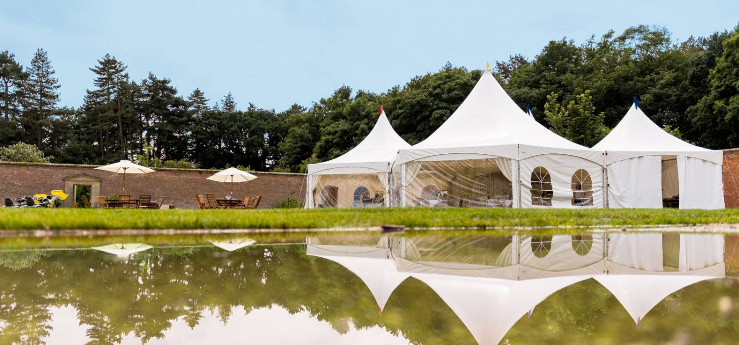 Five fantastic reasons to choose a marquee wedding